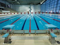 Great training facilities in Spain for clubs on swimming camps in Barcelona