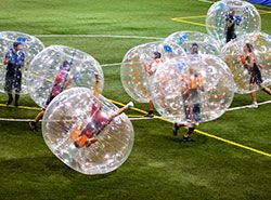 Teambuilding in Barcelona - Activities in Barcelona - Bubble football - Bubble soccer