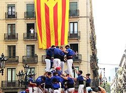 Teambuilding in Barcelona - Activities in Barcelona - Human pyramids